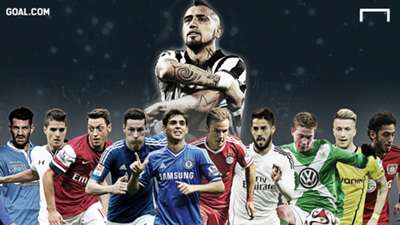 Who are the potential No.10s who can replace Vidal at Juventus?