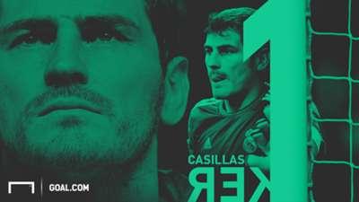 Iker Casillas Real Madrid career