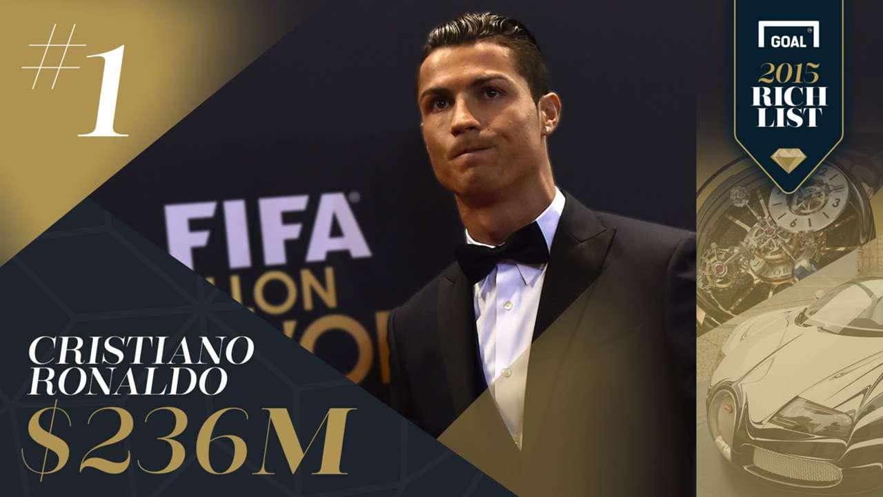 RL15USD 1 Ronaldo Rich List 2015