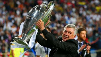 Carlo Ancelotti Real Madrid Champions League 2014