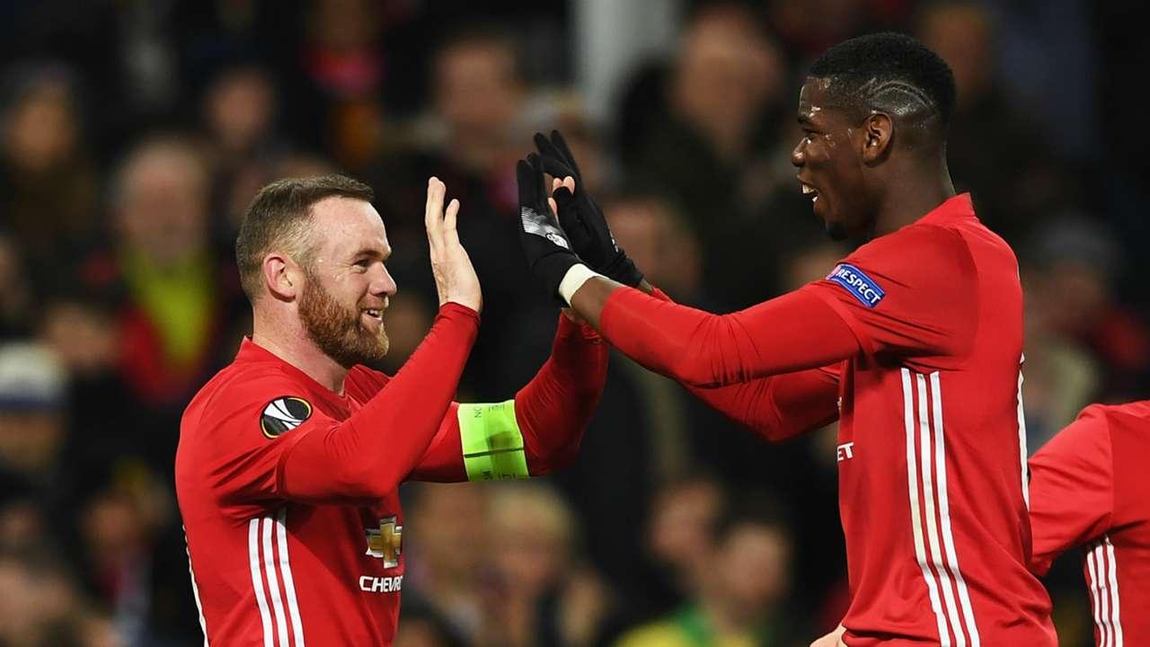HD Wayne Rooney Paul Pogba Manchester United