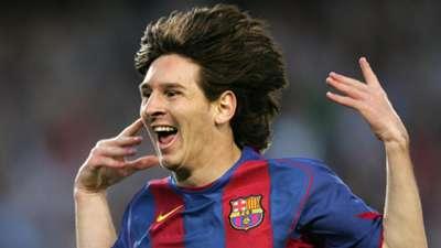 20 Lionel Messi Barcelona Albacete 2005