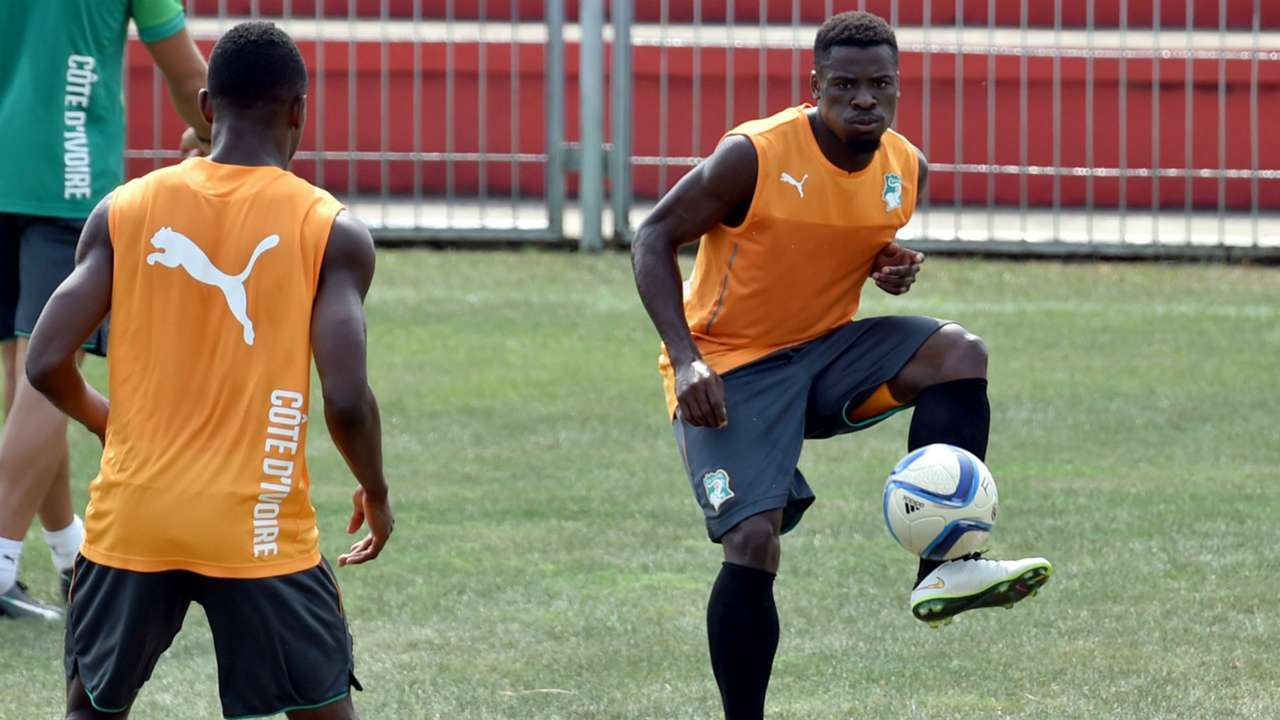 Serge Aurier Ivory Coast Africa Cup of Nations
