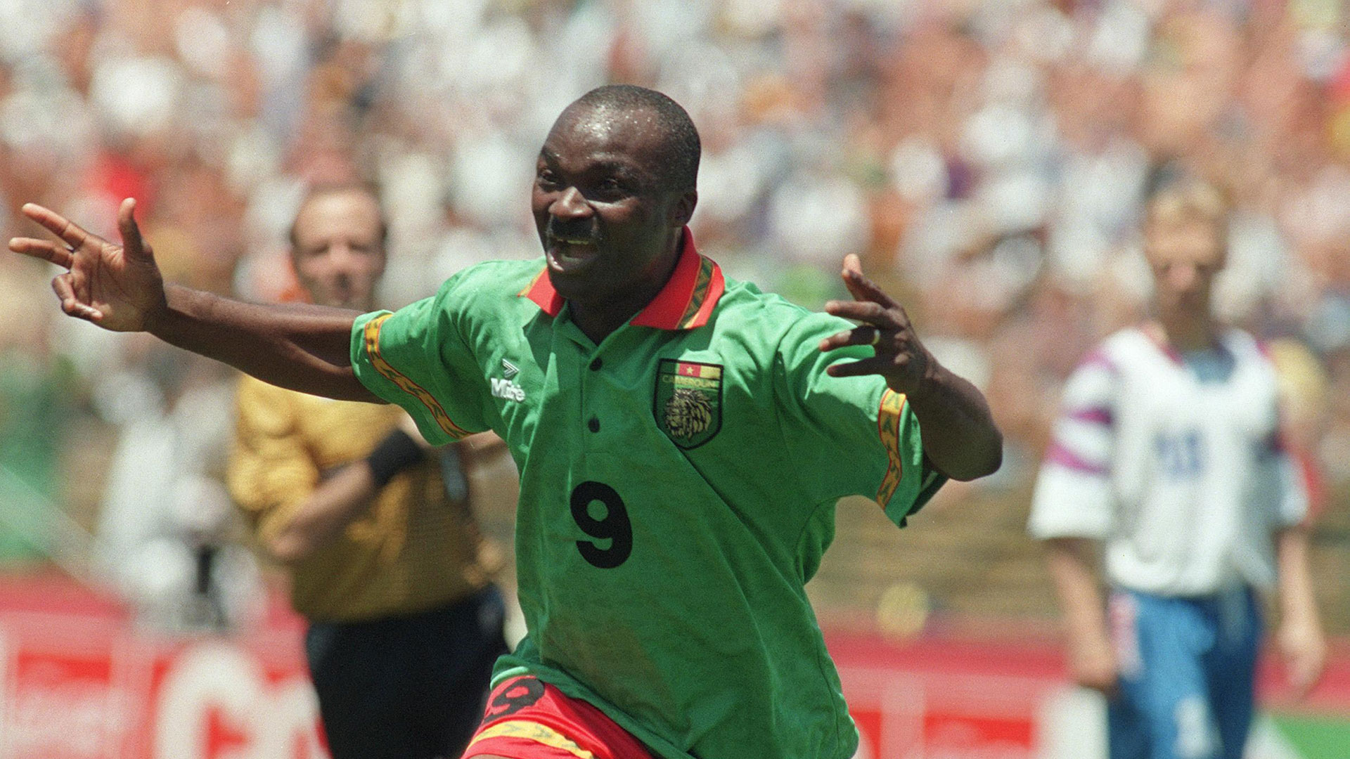 Cameroon legend Milla: It will 'be very difficult to beat' Fifa World Cup record