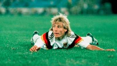 Jurgen Klinsmann West Germany 1990 World Cup