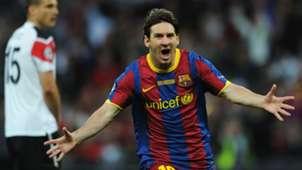 2011 Lionel Messi Barcelona Manchester United