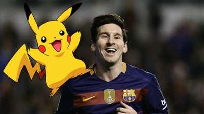Footballers as Pokemon