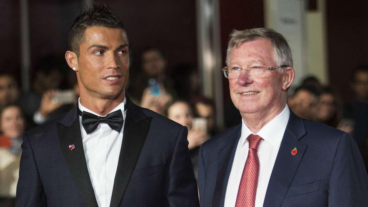 Ronaldo film premiere Cristiano Ronaldo Sir Alex Ferguson