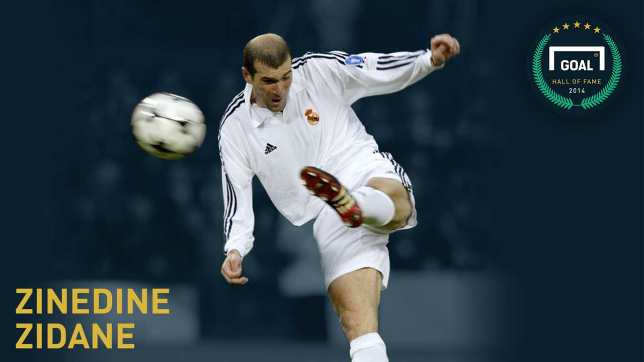 Gallery: Hall of Fame - Zinedine Zidane in pictures