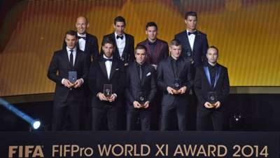 World XI Ballon d'Or 2014