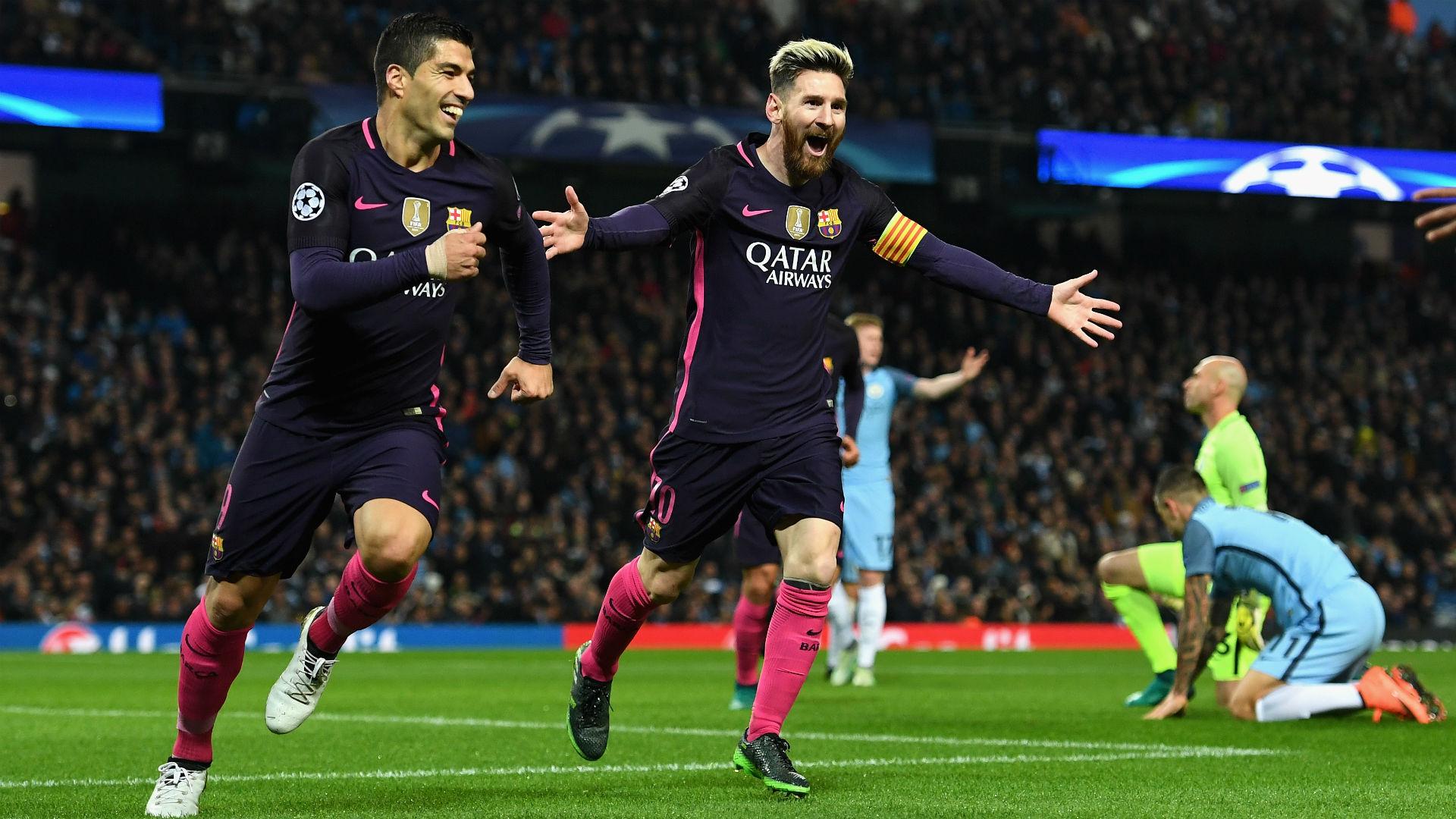 Manchester City 3 1 Barcelona Gundogan Double Sinks Barca