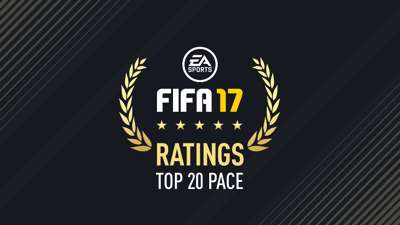 Fastest FIFA 17 Players Cover