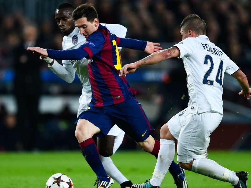 Verratti: Messi more beautiful to watch than Ronaldo & Hazard