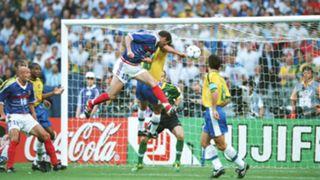 Zinedine Zidane France Brazil World Cup 1998