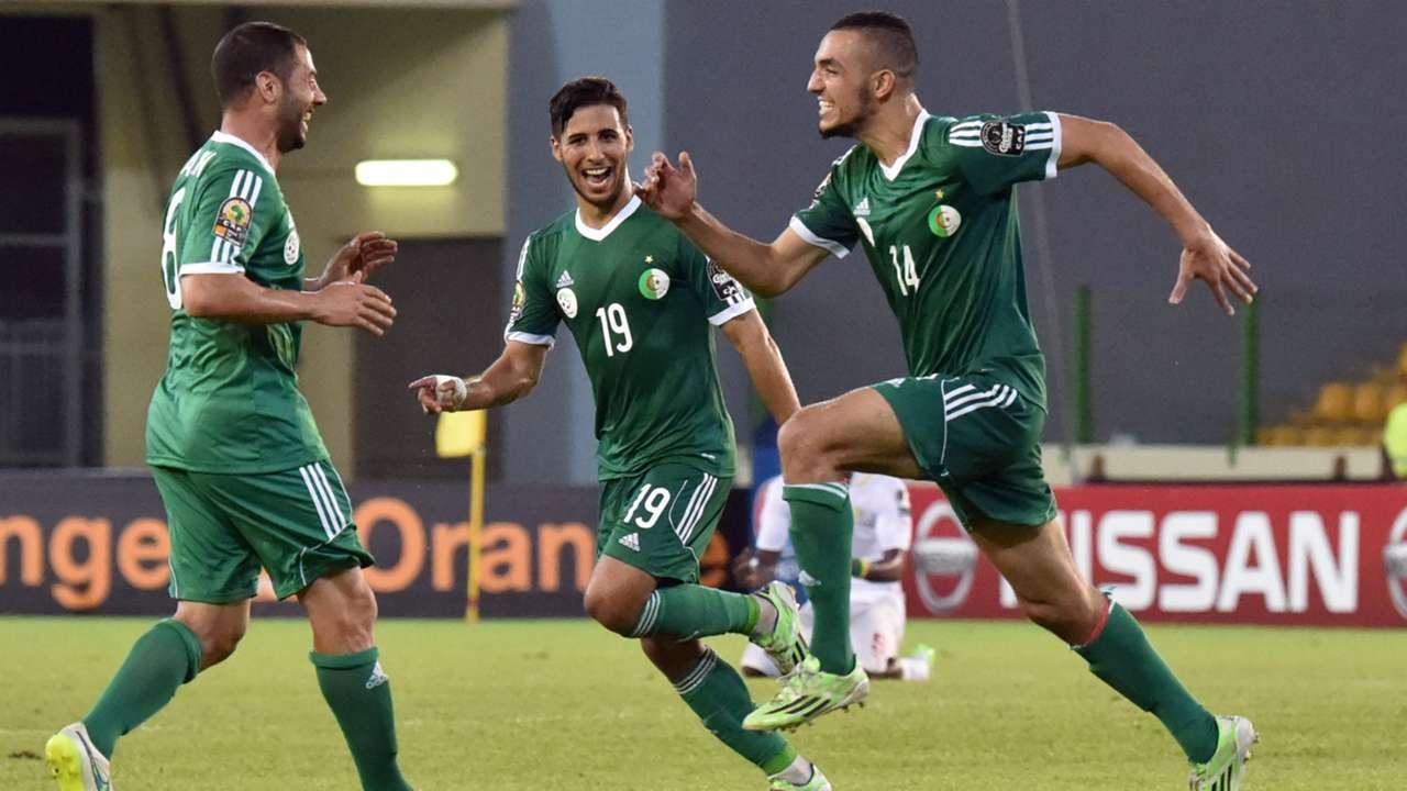Nabil Bentaleb Algeria Afcon
