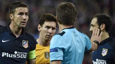 Lionel Messi Atletico Madrid Barcelona