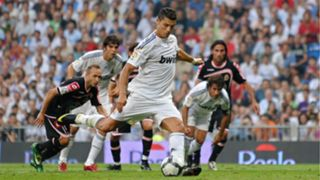Cristiano RM debut