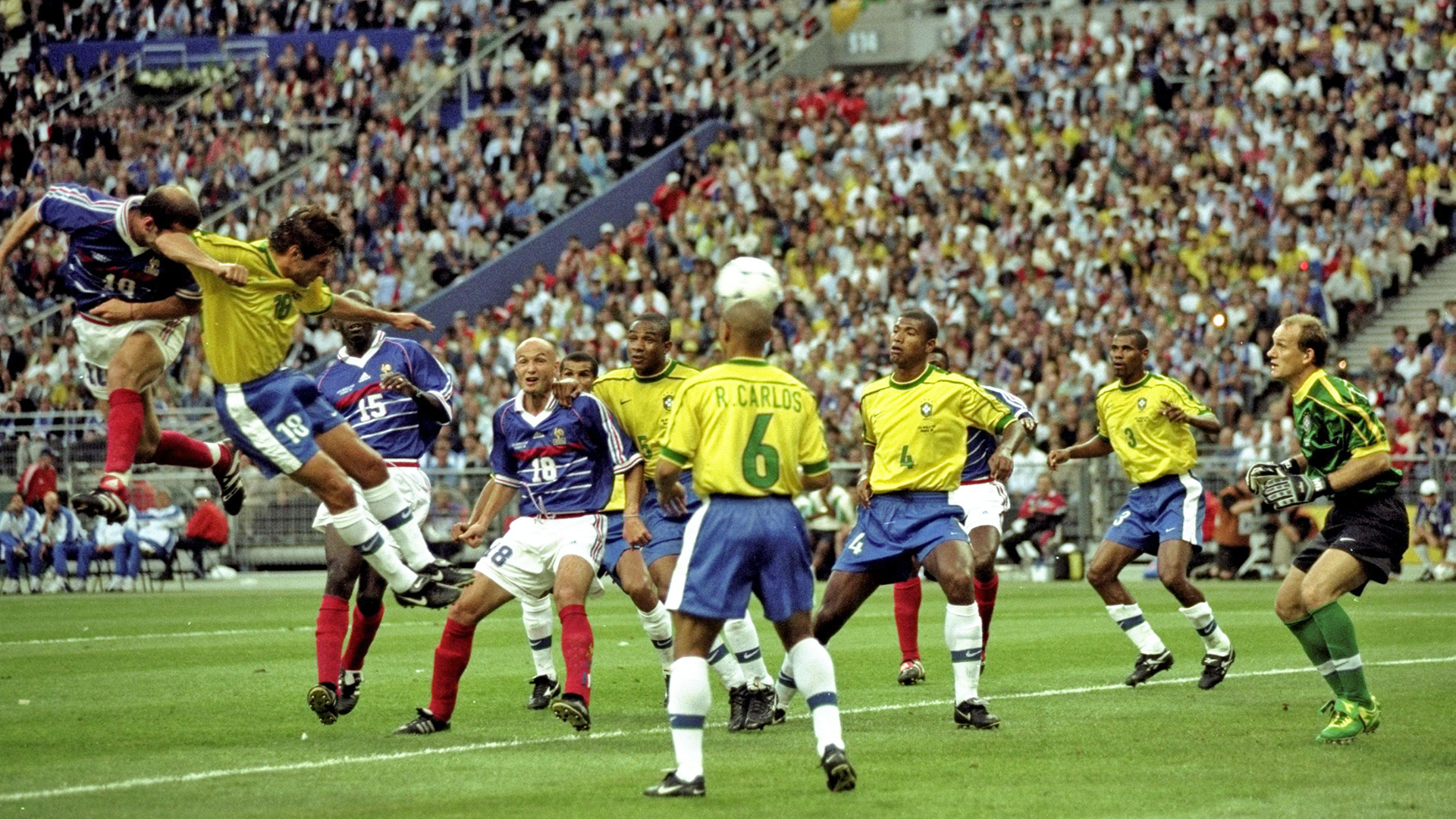 Fifa Rewind Watch Brazil Versus France From World Cup 1998 In Full This Friday Goal Com