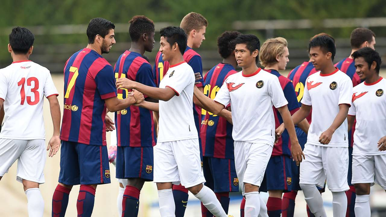Luis Suarez Barcelona B Indonesia U19 Friendly 24092014