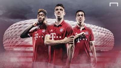 Bayern Munich 2016-17 kit launch