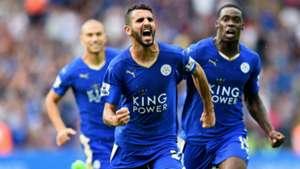 Riyad Mahrez Leicester City Premier League