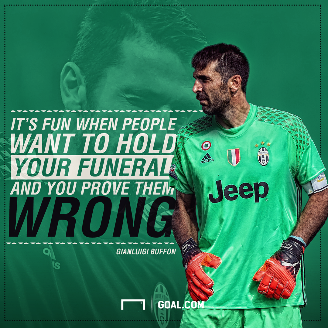 size 40 68fb5 829cf Still Juventus' superman! Buffon silences his critics with ...