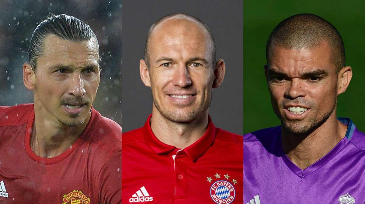 Ibrahimovic Robben Pepe
