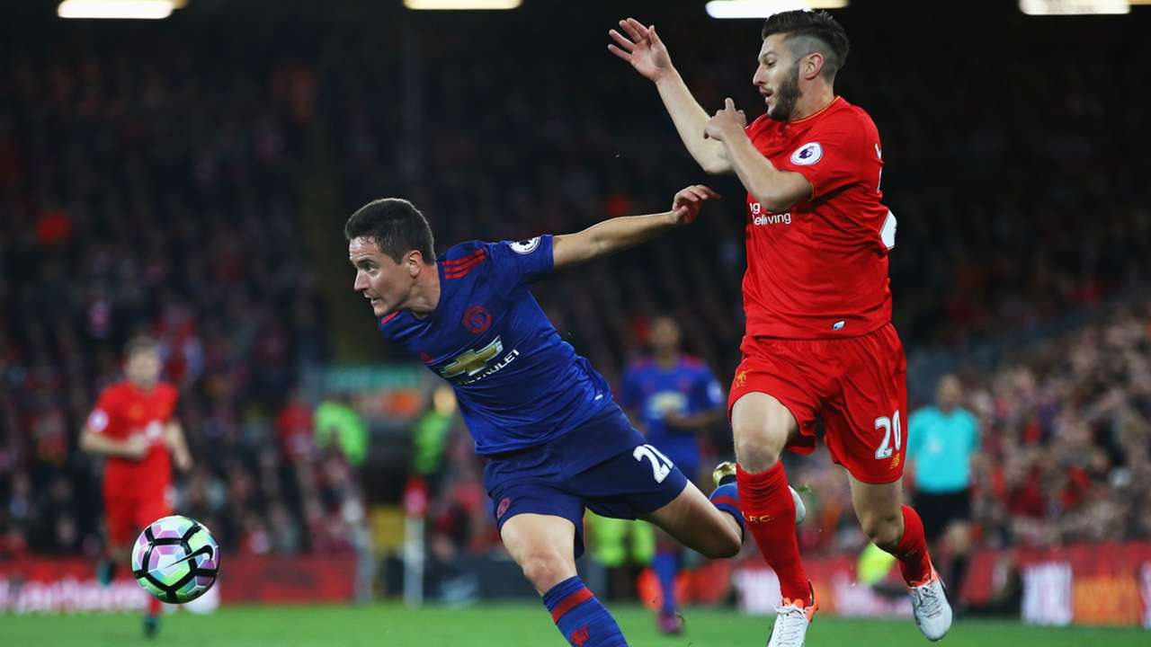 Ander Herrera Premier League Liverpool vs Manchester United 171016