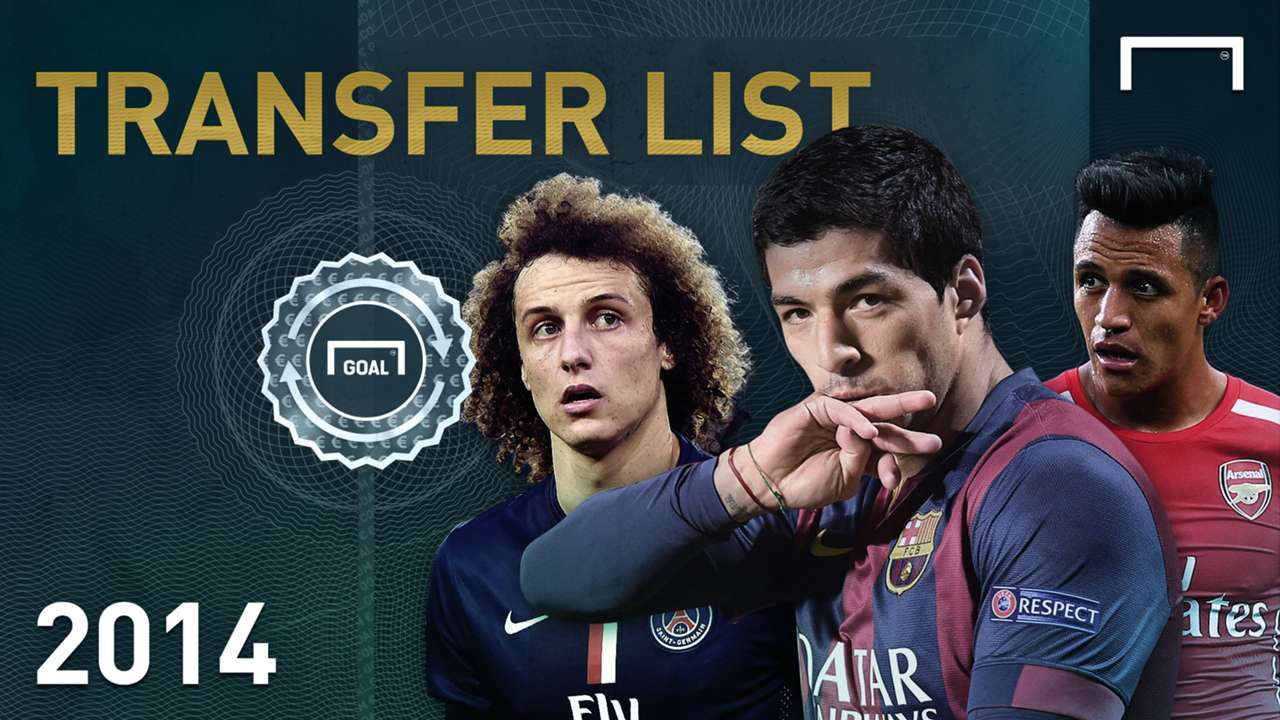 2014 Goal Transfer List - The Top 10