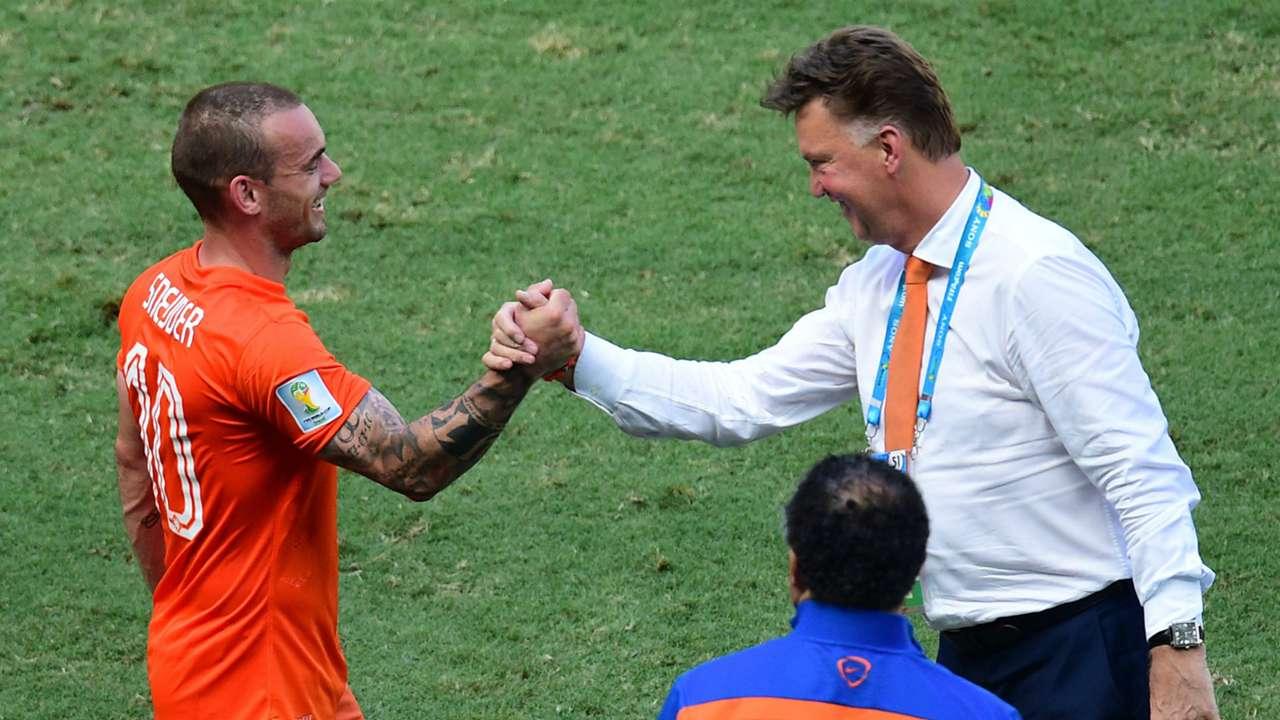 Wesley Sneijder Louis van Gaal