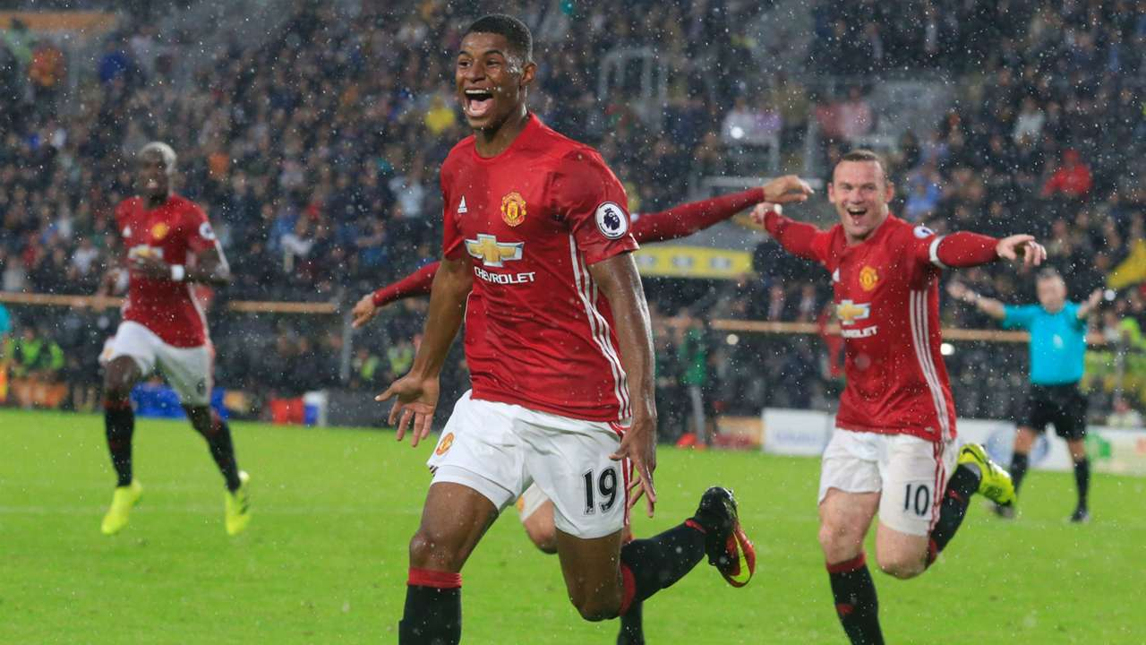 FIFA 17's most promising youngsters   Marcus Rashford