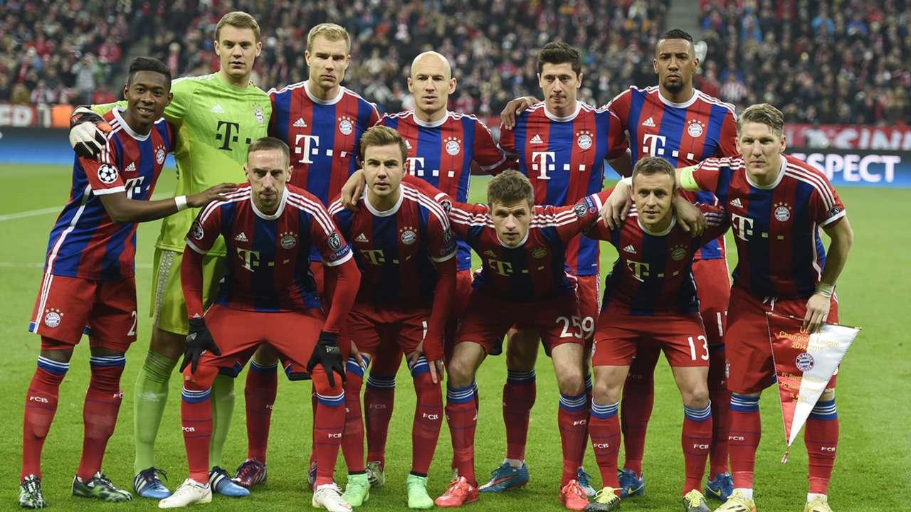 Line Up Shakhtar Donetsk Bayern Munich Champions League 11042015