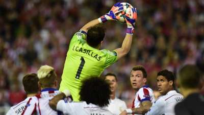 Iker Casillas Atletico Madrid Real Madrid Champions League 14042015