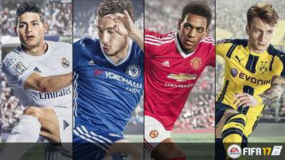 FIFA 17 cover options