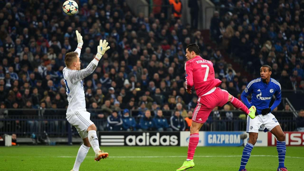 Cristiano Ronaldo Real Madrid Schalke 04 Champions League 18022015