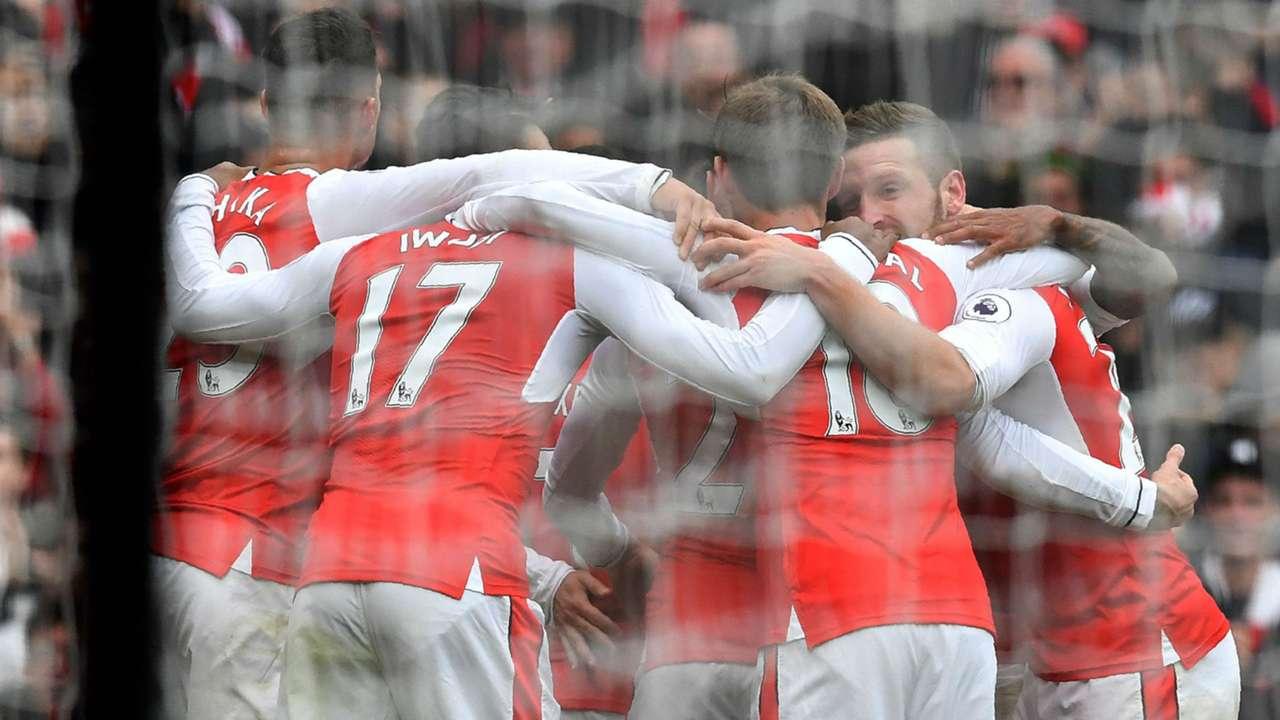 Arsenal Premier League Arsenal v Tottenham 061116