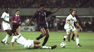 Patrick Kluivert Ajax AC Milan 1995 European Cup final