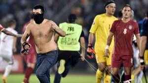 Serbia Albania Euro 2016 qualifying 14102014