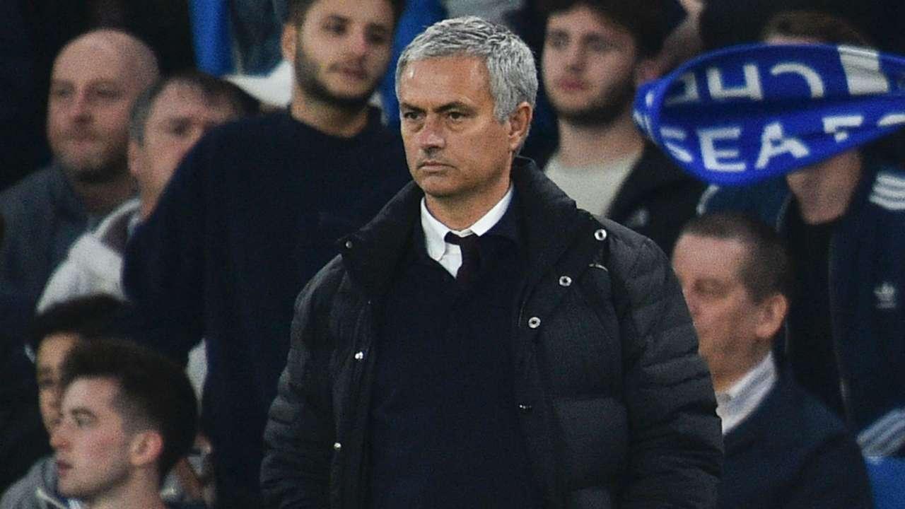 Jose Mourinho Premier League Chelsea v Manchester United 231016