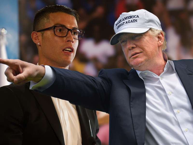 Cristiano Ronaldo And Donald Trump A Match Made In Heaven Goal Com