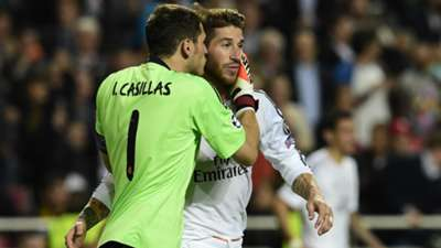 Iker Casillas Sergio Ramos Real Madrid