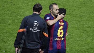 Iniesta Xavi Juventus Barcelona Champions League final 06062015