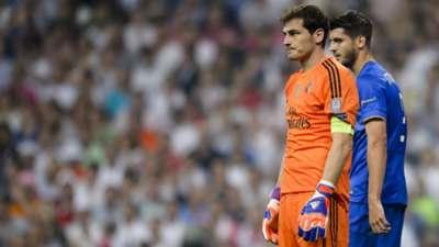 Iker Casillas Alvaro Morata