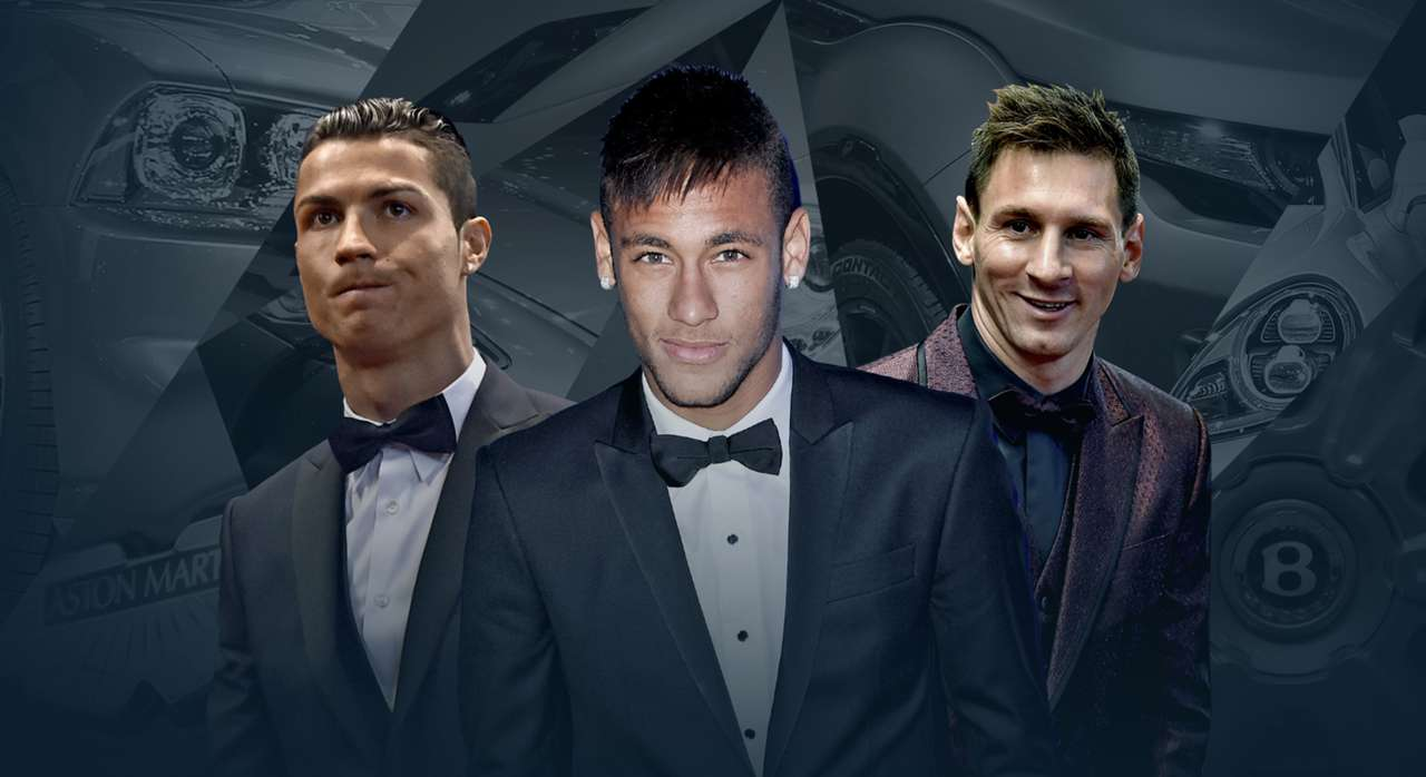 From Ronaldo's Rolls Royce to Messi's Maserati - Football stars and their cars