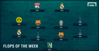 Champions League Flops of the Week