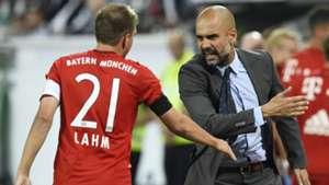 Philipp Lahm Pep Guardiola Bayern Munich