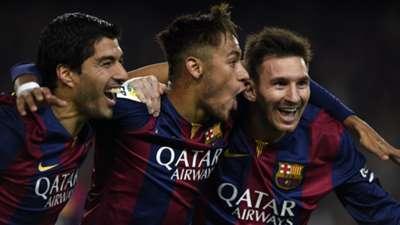 Lionel Messi Neymar Luis Suarez Barcelona Atletico Madrid La Liga Matchday 18