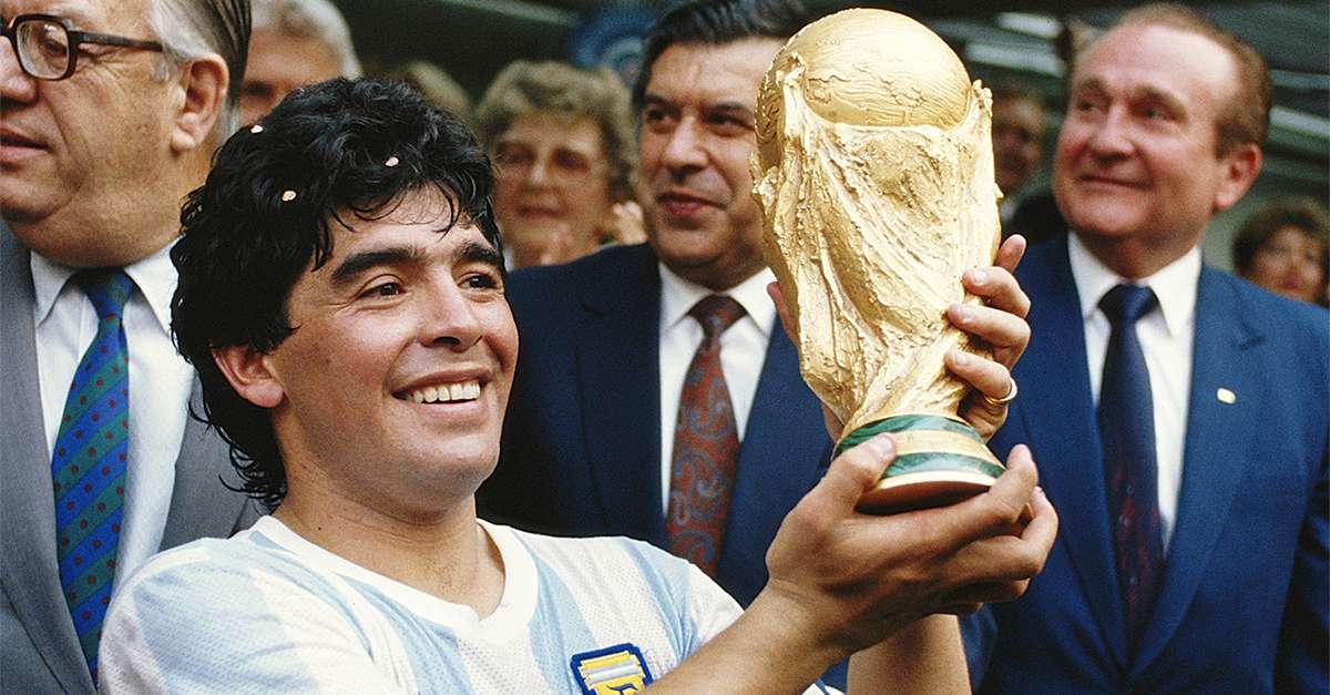 كأس العالم من الألف للياء (19) | يد الله تمنح الأرجنتين ومارادونا المونديال  | Goal.com
