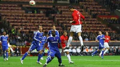 Cristiano Ronaldo Manchester United Chelsea Champions League final 2008