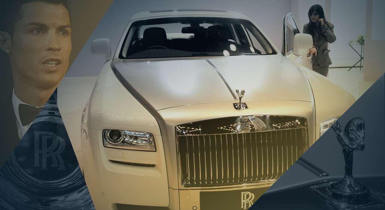 1 Cristiano Ronaldo Rolls Royce